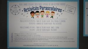 activité parascolaire